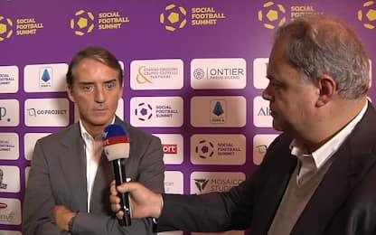 """L'obiettivo di Mancini: """"All'Europeo per vincere"""""""