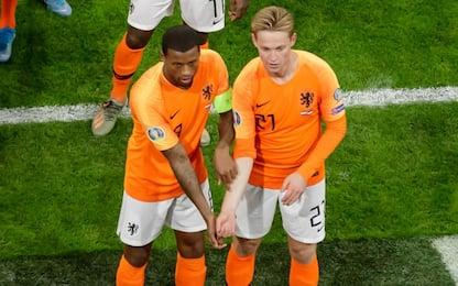 Wijnaldum e De Jong, un gol contro il razzismo