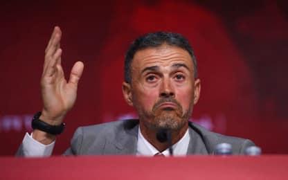 "Luis Enrique: ""Moreno via perché è stato sleale"""