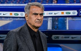 coach Senol Gunes of Turkey during the UEFA EURO 2020 qualifier group C qualifying match between France v Turkye at Stade de France on October 14, 2019 in Paris, France(Photo by ANP Sport via Getty Images)