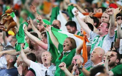 Cori e serenate: lo show irlandese a Euro 2016