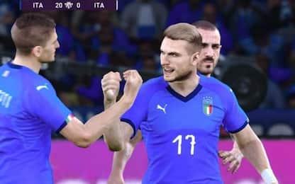 L'Italia vince e-Euro 2020 battendo la Serbia