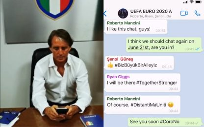 Il siparietto social tra i Ct di Euro 2020. VIDEO