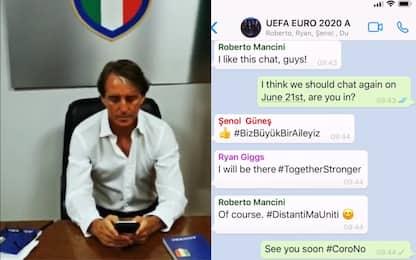 Il siparietto social tra i Ct di Euro 2020. VIDEO