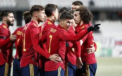 Brahim fa felice Pioli, due gol con la Spagna U21