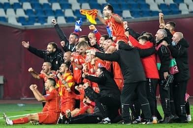 Macedonia e Ungheria in festa, sono agli Europei