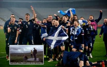 """Scozia agli Europei: """"E' bello essere scozzesi"""""""