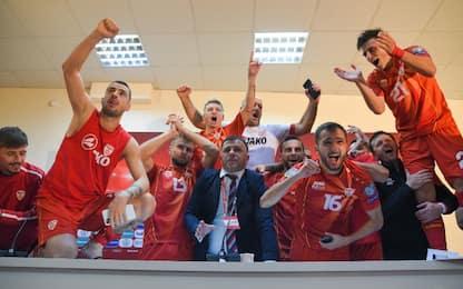 Macedonia a Euro 2020, la storia parla italiano