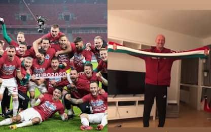 Favola Ungheria, agli Europei con Ct Marco Rossi