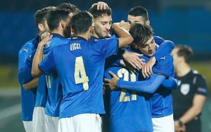 Europei U21, Italia con Spagna, R. Ceca e Slovenia