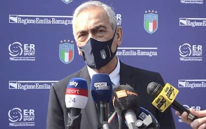 "Gravina: ""Nessuna sanzione a Juve, Milan e Inter"""