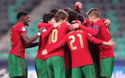 Europei under 21: ai quarti Italia-Portogallo