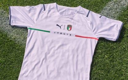 Italia, ufficiale la nuova maglia da trasferta