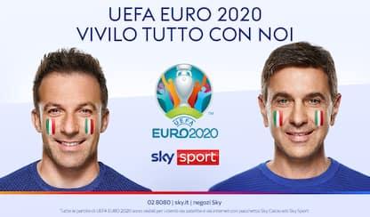 Europei su Sky Sport, la campagna video