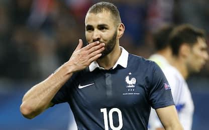 Benzema torna in Nazionale: la lista della Francia
