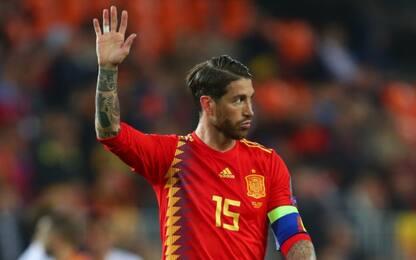 Spagna senza Ramos e giocatori del Real Madrid!