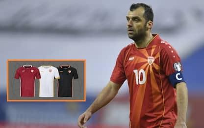 Tifosi bocciano nuova maglia, Macedonia la ritira