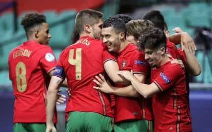 Italia U21, supplementari fatali: 5-3 Portogallo
