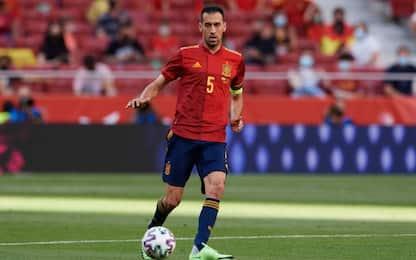 Spagna, Busquets positivo al Covid