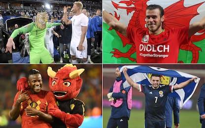 Tutti i soprannomi delle Nazionali a Euro 2020