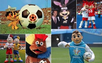 Da Pinocchio a Skillzy: tutte le Euro-mascotte