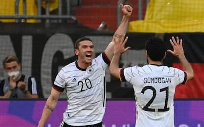 La Germania ne fa 7 alla Lettonia, a segno Gosens