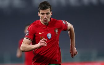 ALLIANZ STADIUM, TORINO, ITALY - 2021/03/24: Ruben Dias of Portugal  looks on during the FIFA World Cup 2022 Qualifiers match between Portugal and Azerbaijan. Portugal wins 1-0 over Azerbaijan. (Photo by Marco Canoniero/LightRocket via Getty Images)