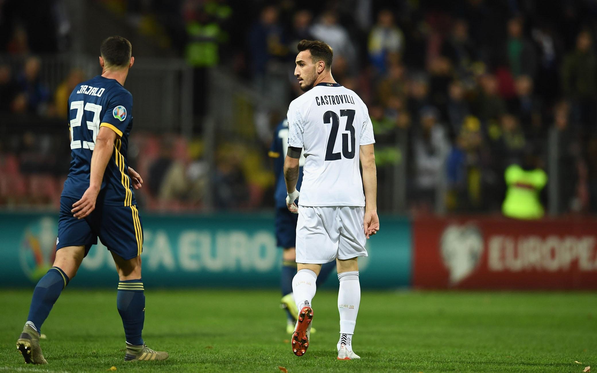Il debutto di Castrovilli a Zenica contro la Bosnia il 15 novembre 2019