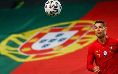 """Ronaldo carica il Portogallo: """"Siamo ambiziosi"""""""
