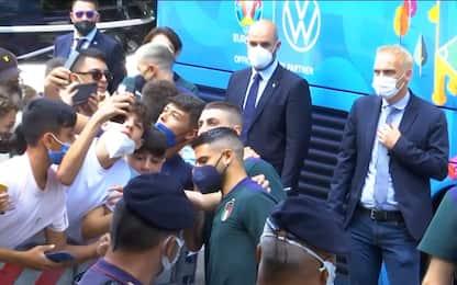 Sale l'attesa per Italia-Svizzera: le news LIVE