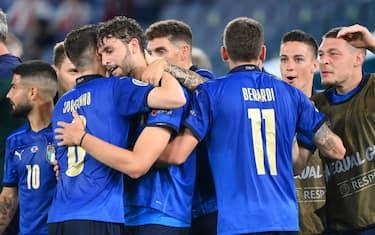 italia gol lapresse