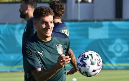Italia-Svizzera, probabili: gioca Di Lorenzo