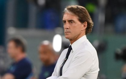 "Mancini: ""Questa vittoria è dedicata a chi soffre"""