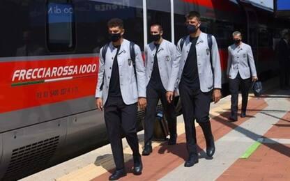 Italia-Galles, azzurri in treno verso Roma
