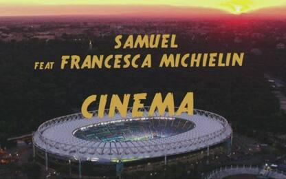 """Italia-Galles sulle note di """"Cinema"""" di Samuel"""