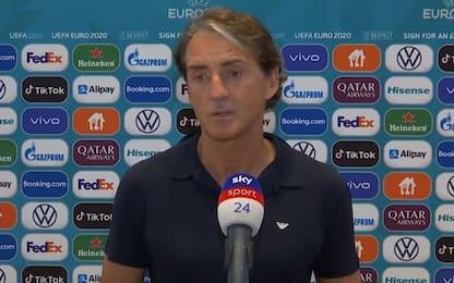 """Mancini: """"Vogliamo finire primi. Verratti ci sarà"""""""