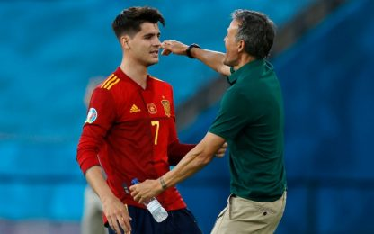 """Morata: """"In Spagna non vedono l'ora di attaccarci"""""""