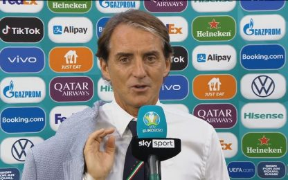 """Mancini: """"Difficile fare meglio di così"""""""