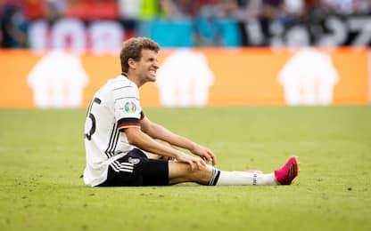 Problema al ginocchio, Muller out con l'Ungheria