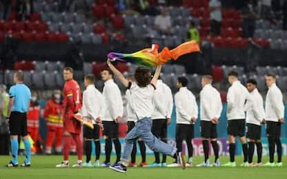 Germania-Ungheria: Monaco si colora di arcobaleno