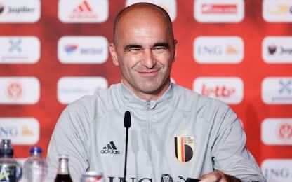 """Martinez: """"C'è ottimismo per Hazard e De Bruyne"""""""