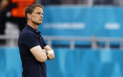 """De Boer e l'Olanda si separano: """"Troppa pressione"""""""