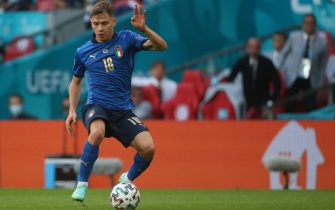 Nicol˜ Barella of Italy during the UEFA Euro 2020 last 16 match at Wembley Stadium, LondonPicture by Paul Chesterton/Focus Images/Sipa USA 26/06/2021