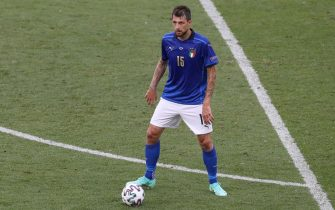 Rome, Italy, 20th June 2021. Francesco Acerbi of Italy during the UEFA Euro 2020 match at Stadio Olimpico, Rome. Picture credit should read: Jonathan Moscrop / Sportimage via PA Images