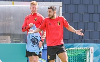 De Bruyne e Hazard non si allenano. Pretattica?