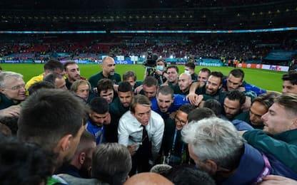 Mancini, la forza tranquilla esempio per l'Italia