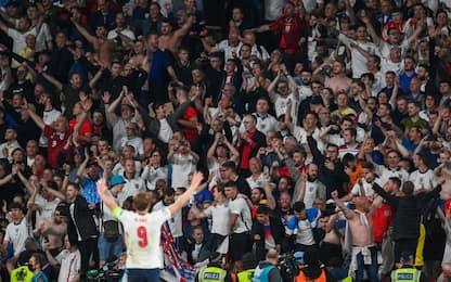Kane segna il 2-1, il boato di Wembley fa paura!