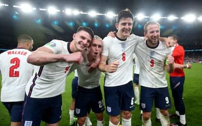 Kane-gol, Inghilterra in finale: Danimarca ko 2-1
