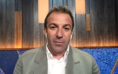 """Del Piero: """"Chi in finale? Con l'Inghilterra…"""""""