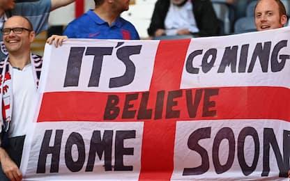 """""""Three Lions"""" suonata a Wembley, no della Uefa"""